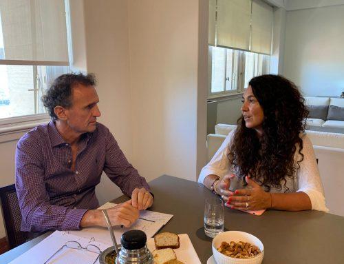 Reunión con el Ministro de Obras Públicas de la Nación, Gabriel Katopodis