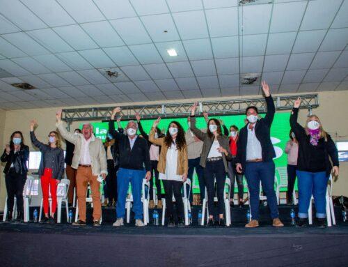 El Frente de Todos del distrito de Saavedra presentó su lista con el apoyo de dirigentes seccionales